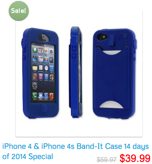 iPhone 4 and iPhone 4s Band-it Case