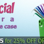 Mother's day Special 25% off order over $25