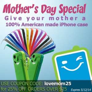 American made iPhone case for your bodacious mother for mother's day